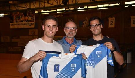 Marc Palazón i Oriol Vives debutaran amb la samarreta llistada el 23 de setembre contra el Palafrugell.