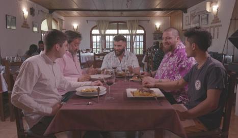 Marc Ribas comparteix taula amb cuiners del Priorat.