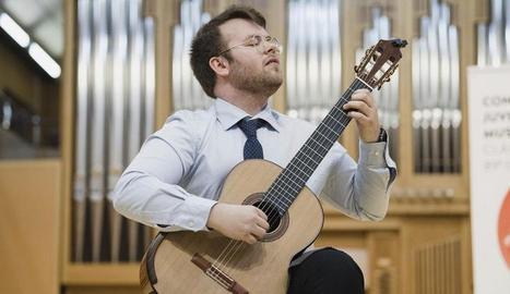 El guitarrista Ferran Talarn és un dels artistes convidats del VIII Garrigues Guitar Festival.