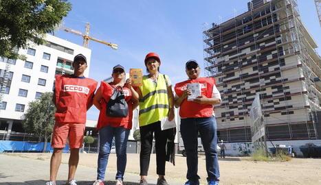 La campanya del sindicat es va presentar ahir.