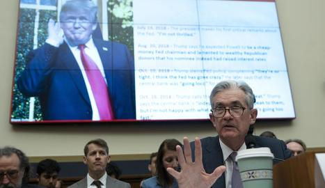 Imatge d'arxiu del president de la Fed, Jerome Powell.