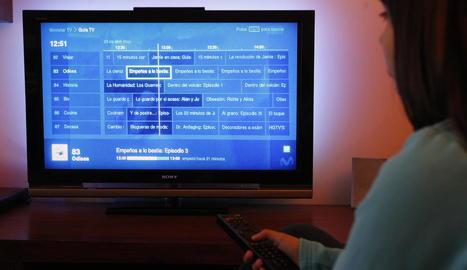 El consum televisiu dels espanyols descendeix 9 minuts el juliol respecte al mateix mes de 2018
