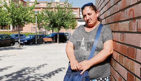 La lleidatana Carmen Flores, de 45 anys