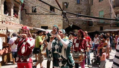 Guimerà celebra els 25 anys del Mercat Medieval