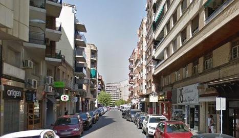 Imatge del carrer Vallcalent