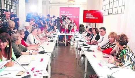 La candidata popular a la presidència de la Comunitat de Madrid, Isabel Díaz Ayuso, ahir.