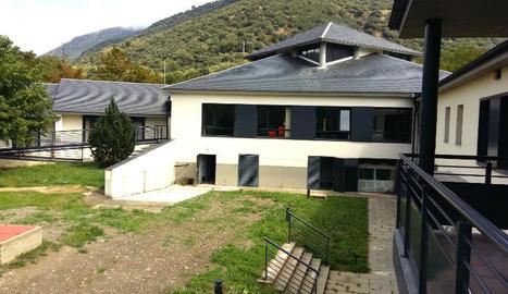 Les instal·lacions de l'única residència geriàtrica de Sort.