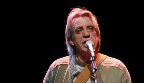 El cantautor extremeny Luis Pastor.