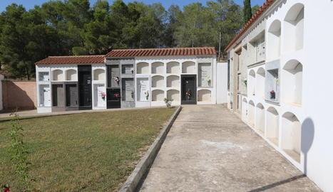 Imatge del cementiri de Sucs.
