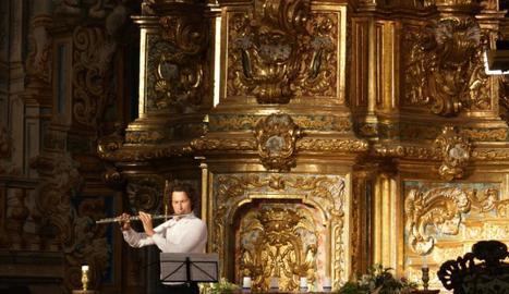 Concert d'ahir al santuari del Miracle de Riner.