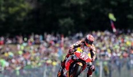 Màrquez arrasa a Brno i és més líder de MotoGP