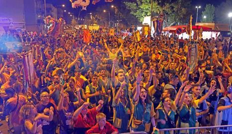 El barri lleidatà va tancar diumenge quatre dies de celebracions