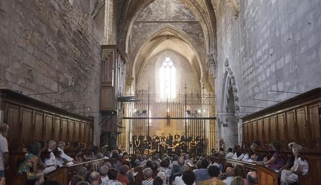 Concert de clausura del cicle de música al monestir de Vallbona de les Monges.