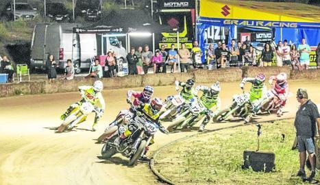La prova es va disputar dissabte a la nit al circuit de dirt track de l'Albi.