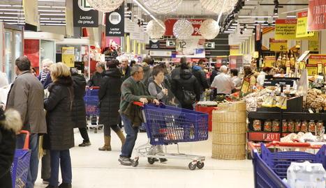 Les instal·lacions de Carrefour a Lleida.
