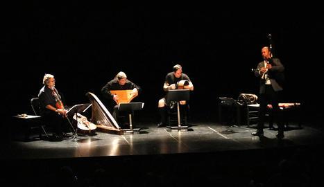 La gaita va ser un dels instruments protagonistes del concert.