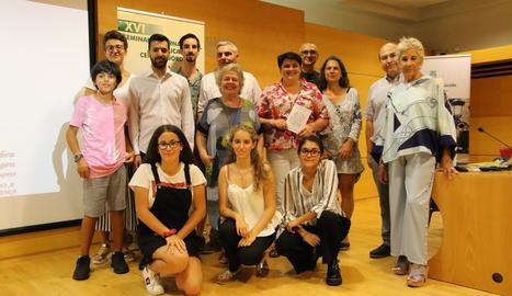 La sala d'actes de la Diputació de Lleida va acollir la inauguració del seminari.