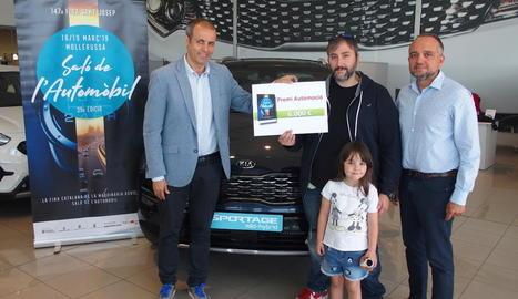 El lliurament del premi es va fer ahir a Lleida.