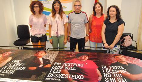 La presentació de la campanya al consell comarcal.