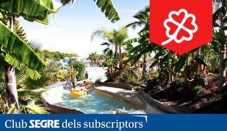 Parc d'atraccions aquàtic amb tobogans d'aigua gegants, espectacles amb animals marins i restaurants.