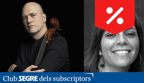 Arnau Tomàs, violoncel i Mercè Hervada, clavicèmbal, ens interpretaran un concert amb obres d'A.Vivaldi.
