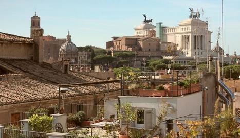 Roma, a vista d'ocell