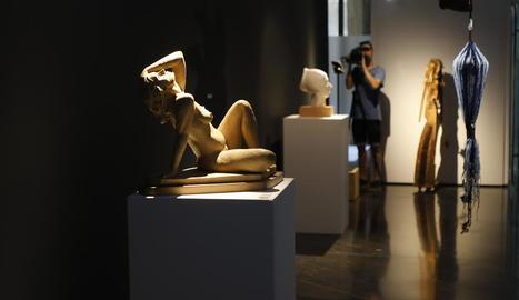 L'Institut d'Estudis Ilerdencs acull des d'ahir les 25 millors escultures del premi Sant Jordi.