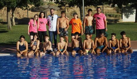 Imatge d'alguns dels participants a les activitats.