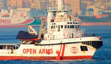L''Open Arms' va rescatar 121 persones la setmana passada.