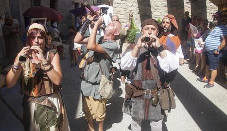 El públic que va assistir al certamen va formar part dels diferents espectacles que va oferir la companyia La Cremallera Teatre.