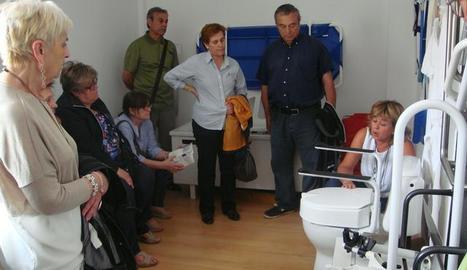 Imatge d'un dels cursos per a cuidadors no professionals que porta a terme la Paeria.