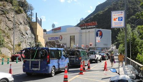 Andorra construirà un mur de formigó per protegir el punt de l'esllavissada