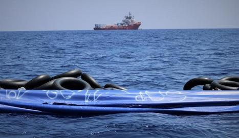 Metges Sense Fronteres va anunciar ahir el rescat de 81 migrants més en aigües del Mediterrani.