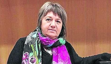 Foto d'arxiu d'Olga Sol Barberà, que va estar a les llistes de la CUP d'Alpicat a les municipals.