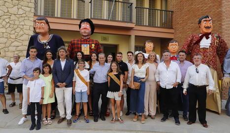 Maials va arrancar ahir la festa major amb la proclamació de les pubilles i els hereus.