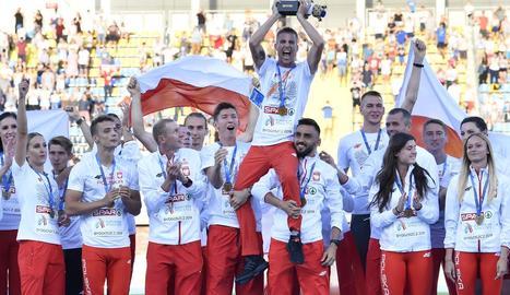 La selecció de Polònia va aconseguir el seu primer títol europeu.