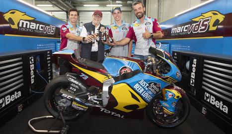 Àlex Márquez seguirà la pròxima temporada a Moto2 amb el Team Estrella Galicia 0,0