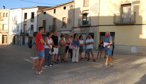 Jaume Suau, amb assistents a la primera jornada.