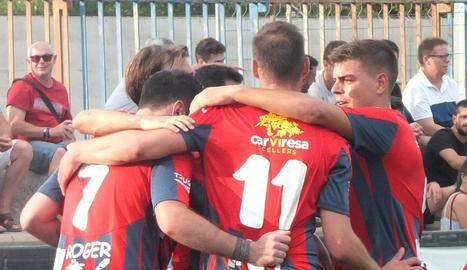 Aquesta temporada el club té el suport de Cellers Carviresa.