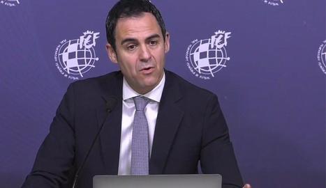Carlos Velasco Carballo, president del Comitè d'Àrbitres.
