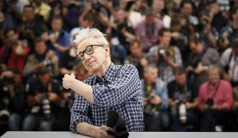 Imatge d'arxiu del cineasta nord-americà Woody Allen.
