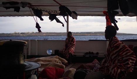 Òscar Camps espera que Espanya lideri la resposta a la situació del Mediterrani
