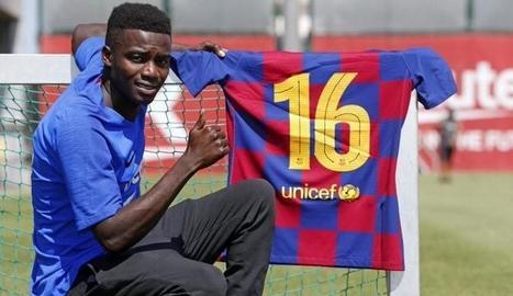 El del planter Moussa Wagué puja al primer equip.