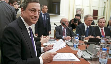El president del Banc Central Europeu (BCE), Mario Draghi.