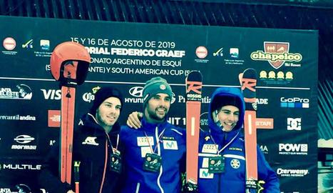 L'aranès Àlex Puente ha firmat dos podis a l'Argentina.