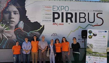 El Piribus va arribar dimecres passat a la capital de l'Alta Ribagorça.