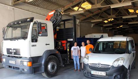 La brigada de serveis municipals disposa de 38 vehicles.