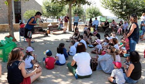 Èxit de participació al desè Festival de Contes, ahir a Tiurana.