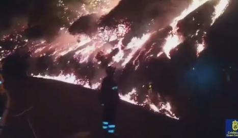 L'incendi de Gran Canària,
