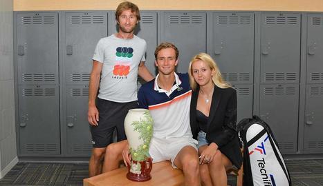 Daniïl Medvédev va conquerir el torneig de Cincinnati.